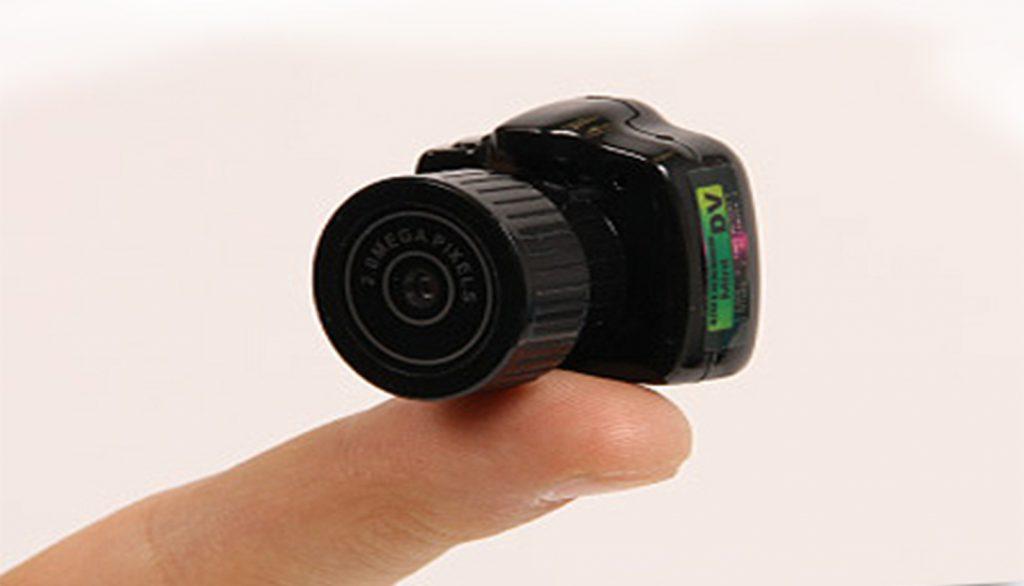 دوربین مداربسته نامحسوس کوچک