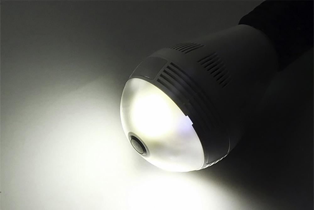 دوربین مداربسته لامپی دید در شب
