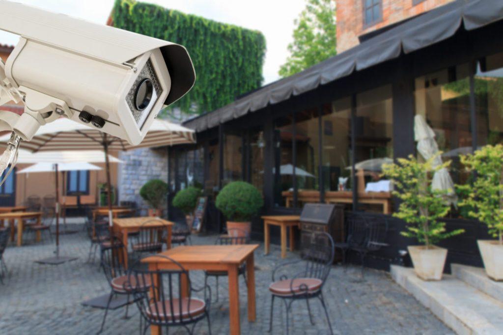 دوربین مداربسته برای رستوران