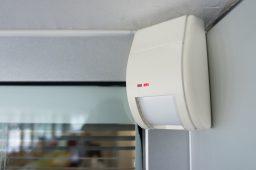 Location alarm motion detection sensor